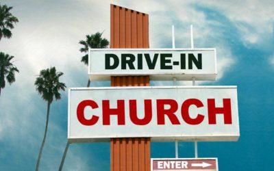 Drive-in Church 2. påskedag